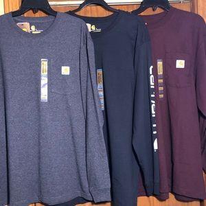 Carhartt Long Sleeve work Shirt Size M (3)